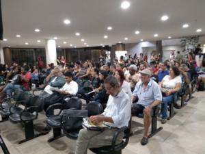 27/05/2019 - SINTAPI-CUT participa de organização de ato contra corte na Educação