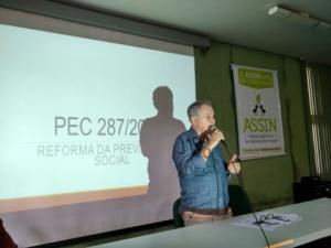 Gerson Maia, diretor de Previdência, debate a reforma da Previdência no Incaper