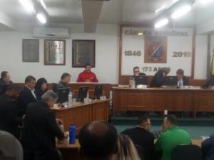 23/07/2019 - SINTAPI-CUT discute impacto da reforma da Previdência em São Leopoldo
