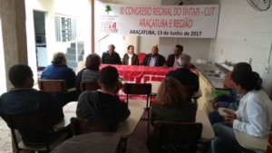 13/06/2017 - III Congresso Regional do SINTAPI-CUT ARAÇATUBA/SP
