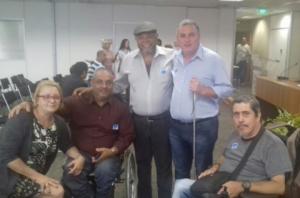 17/11/2017 - Luizão, presidente do Sintapi-CUT, participa de reunião no Conade, em Brasília