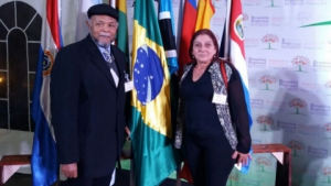 24 a 27 - Jun/2017 - Luizão e Maria Coreti - Em Reunião Regional sobre o Envelhecimento - Madri +15 (Cidade Ypacarai / Paraguai)