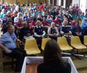 01/10/2019 - SINTAPI-CUT-RS participa da Semana da Longevidade em São Leopoldo