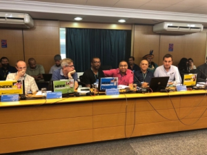 07/06/2018 - Secretário de Saúde do Sintapi-CUT, Gilene José dos Santos, participou da 360 reunião do Conselho Nacional de Saúde