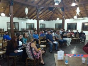 25/04/2019 - SINTAPI-CUT participa de seminário sobre a reforma da Previdência em São Leopoldo
