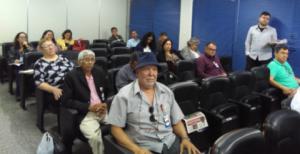 23/05/2018 - Luis Augusto, diretor financeiro do SINTAPI-CUT, participa de reunião no Conselho Federal de Enfermagem sobre o afastamento do trabalho e transtornos mentais
