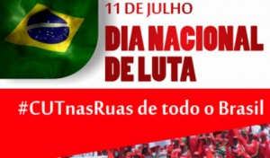 11 de julho: Manifestação Nacional