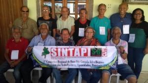03/09/2017 - Fundação do Sindicato de Base de São Gonçalo/RJ e Região do SINTAPI-CUT