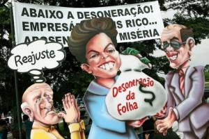 Ato o Grito dos Aposentados e Pensionistas em SP